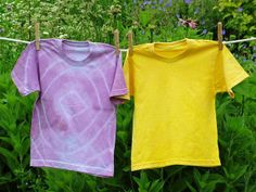 Stain a shirt on purpose! With a few simple materials, you can turn edibles into safe, beautiful fabric dyes right in your own kitchen.