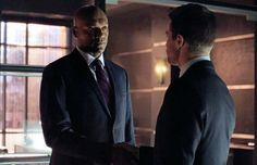 Walter & Oliver from Arrow 2x01 'City of Heroes'