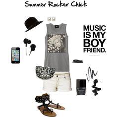 Summer Rocker Chick