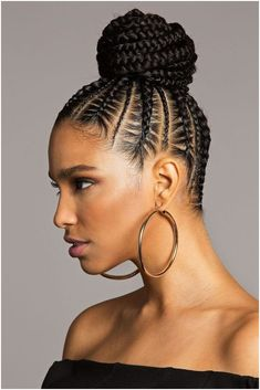 Crowning Glory #ProtectiveBraidsHairstyles Click this image for more info.