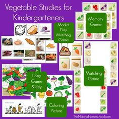 #freeprintable We have studied the difference between fruits and vegetables before, but this time, we focused on learning the names of different vegetables, including roots. Come take a look at grab your free printables!