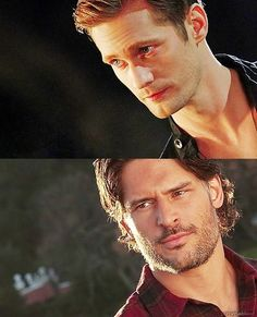 The most dynamic duo ever, Eric & Alcide    True Blood
