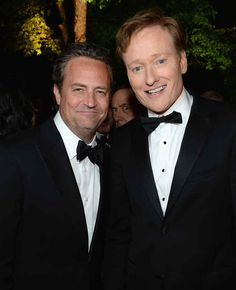 Matthew Perry, Conan, & Kevin Spacey in the back!.   The 28 Best Celebrity Photobombs Of The Year
