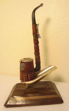 Black Forest German Bavarian Windcap Bell Churchwarden Briar Estate Tobacco Pipe