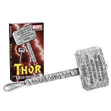 Marvel Thor Bottle Opener by Diamond Selects. $21.21. 5513389 Features: -Crafted in solid metal.-Based on the hammer wielded by Marvel Comics'' God of Thunder.-Age: 8 Years and up. Color/Finish: -Packaged in a full-color wrap around a deluxe collector's case.-Packaged in a full-color wrap encompassing a deluxe collector's case.