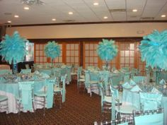 Beach Theme Centerpieces Under The Sea Theme Tropical Theme Ideas Beach Theme Centerpieces, Centerpiece Rentals, Quinceanera Centerpieces, Balloon Decoration Images, Ostrich Feather Centerpieces, Turquoise Party, Sweet 16 Themes, 16 Balloons, Prom Themes