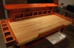 garage workbench, or wood working shop - american made workbench!