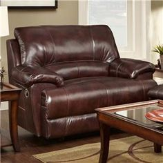 Franklin Caswell Chair And A Half Recliner   45089 LM