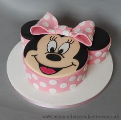 Novelty Cake - Minnie Mouse Face
