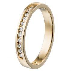 Kalevala Koru / Kalevala Jewelry / Jääkukkia-sormus 11 x 0,01 ct / 18K keltakulta tai valkokulta / #sormuskertootarinaa