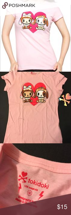 Tokidoki Donut Lovers tee Cute and comfy t-shirt NEW WITH TAGS!! Very soft material and never worn. tokidoki Tops Tees - Short Sleeve