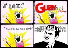 Qué salga ya!!!! #GUAYnot
