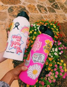 See more of a-girls-world's VSCO. Hydro Flask Water Bottle, Cute Water Bottles, Vsco Pictures, Vsco Pics, Girls World, Bottle Art, Good Vibes Only, Summer Girls, Happy Summer