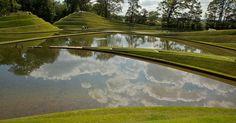 Charles Jencks at Jupiter Artland by Adam Fowler, via Flickr