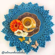 Napkins Set, Placemat, Crochet Carpet, Farmhouse Rugs