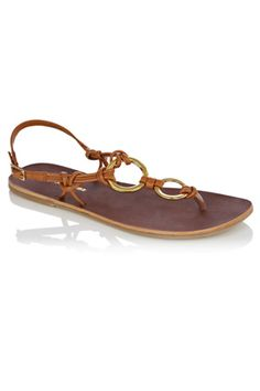 d18f777f1 cute sandal Brown Flats