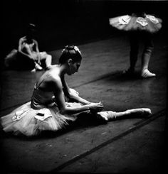 New York City Ballet backstage