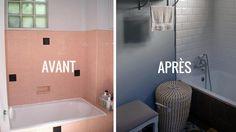 10 meilleures images du tableau salle de bains rose | Bathroom ...