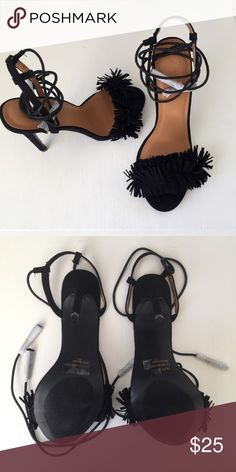 NWOT Black high heels NWOT!! The black high heels are brand new only worn to try on. Charlotte Russe Shoes Heels