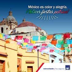 Hoy es un día perfecto para disfrutar México y todo lo que nos ofrece. #FelizDíaDeLaIndependencia