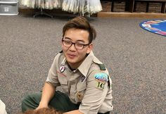 A Wanna Be K-pop Star Who Is Also Boy Scout