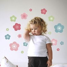 Spring blossoms wall decal removable decals for the walls the 'Spring Blossoms' set makes a great addition to decorating the walls of any little girls #room #decorations
