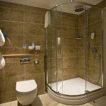 tiles, shower, toilet