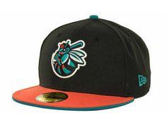 d258dea1684 Burlington Bees New Era MiLB Customs 59FIFTY Cap Hats