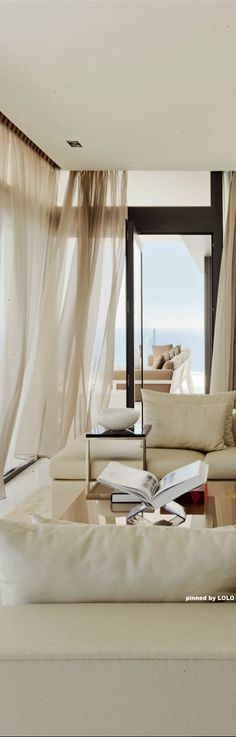 Canopy in an unusual setting Beautiful. The Cliff House by Altea Hills Estate
