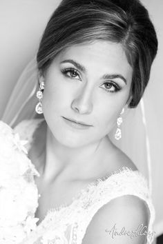 A bride ready for her wedding day | Andre LaCour Photography