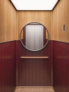 david/nicolas create exclusive elevator cabin series for Mitsulift - Projects, David/nicolas, Beirut Lift Design, Cabin Design, Design Design, House Design, Lobby Interior, Interior Architecture, Modern Interior, Modern Furniture, Beirut
