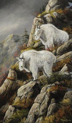 Jackson Hole Art Auction:  Cliff Dwellers