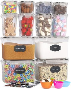 (This is an affiliate pin) Chefs Path Airtight Storage Containers
