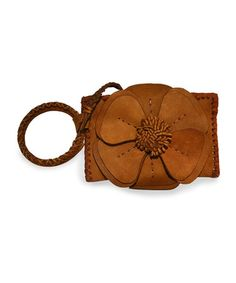 Take a look at this Nubuck Café Natalie Wristlet by Adam Alexis on #zulily today! $40 !!