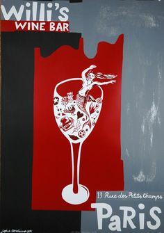 """Willi's Wine Bar"" Sophie Herxheimer - 1997"