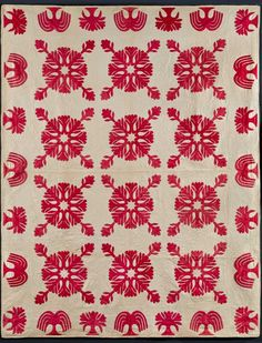 Infinite Variety: Three Centuries of Red and White Quilts | American Folk Art Museum