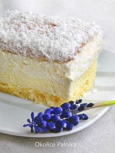Sweet Desserts, Sweet Recipes, Cake Recipes, Dessert Recipes, Hungarian Recipes, Russian Recipes, Lemon Brownies, Polish Recipes, Something Sweet