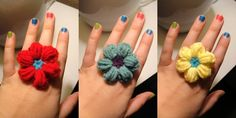 These flowers are so easy to make and they go so fast. The pattern is full of helpful photos and was made by Roman Sock.