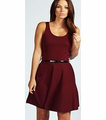 boohoo Maya Scoop Neck Skater Dress - berry azz46906 This skater dress wins the award for most wearable wardrobe item. Fabulously flattering, we love wearing ours with an unbuttoned shirt and flat sandals for day, while adding towering heels takes you f http://www.comparestoreprices.co.uk/dresses/boohoo-maya-scoop-neck-skater-dress--berry-azz46906.asp