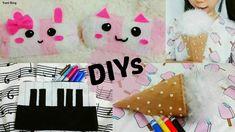 3 Creative DIY Pencil Cases: DIY Animal Pencil Cases out of Socks+ DIY I...