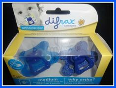 Difrax Orthodontic Pacifiers {Review}