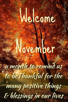 Welcome November Welcome November Welcome November, Happy November, Hello November, November Images, November Quotes, Happy Fall, Happy Thanksgiving, Facebook Cover Photos Flowers, Guest Room Baskets