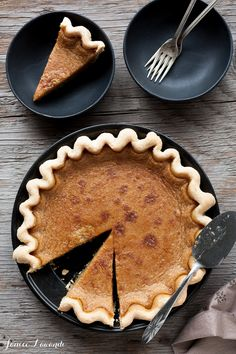 Maple syrup pie  | Janice Lawandi @ kitchen heals soul