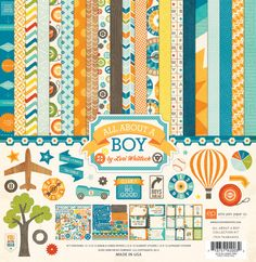 The Scrap Review: CHA Winter 2013 Sneak: All about a boy by Echo Park Paper