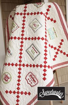 Sweetwater's BOM quilt for Holly's Tree Farm! The blocks are only available until October 7!
