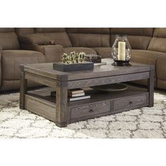 Found it at Wayfair - Burladen Coffee Table with Lift Top