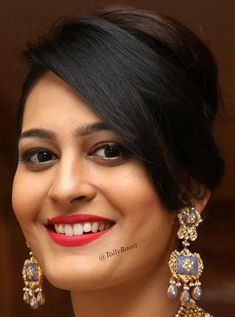 Indian Model Swetha Jadhav Beautiful Earrings Jewelry Smiling Face Close Up TOLLYWOOD STARS Photograph TOLLYWOOD STARS PHOTOGRAPH | IN.PINTEREST.COM WALLPAPER EDUCRATSWEB