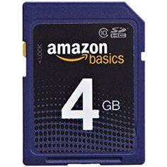 AmazonBasics SDHC Class 10 4 GB Secure Digital Card - http://electmecameras.com/camera-photo-video/accessories/blank-media/amazonbasics-sdhc-class-10-4-gb-secure-digital-card-com/