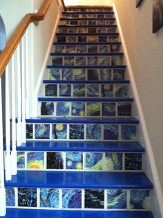Starry Night Stairs