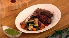 Brisket is a cheap and versatile cut of beef making it perfect for long slow cooking.  Catch up with Let's Do Lunch on ITV Player